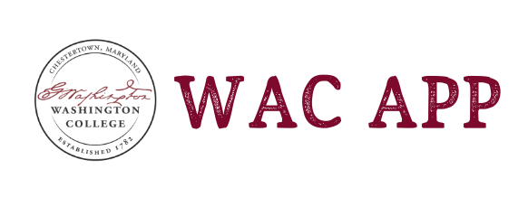 Washington College Application